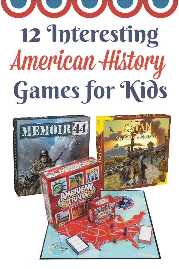 12 Interesting American History Games for Kids