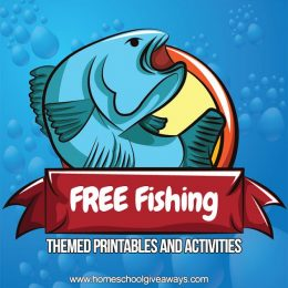 Free Fishing Themed Printables for Kids