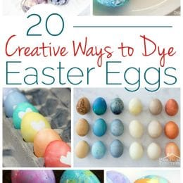 Creative Ways to Dye Easter Eggs