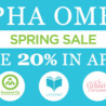 20% Off Alpha Omega Curriculum Plus Free Shipping on Orders $35+