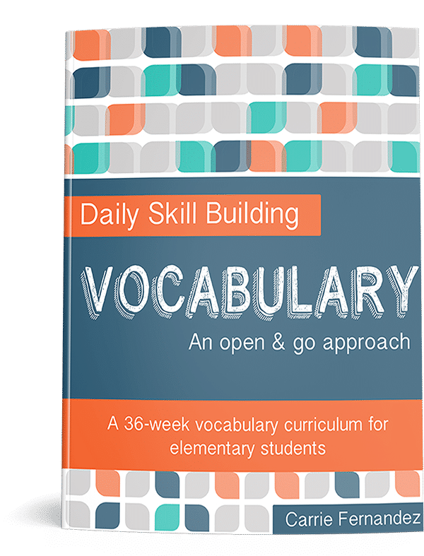 50% Off Daily Skills Building: Vocabulary Curriculum - Only $9.97!