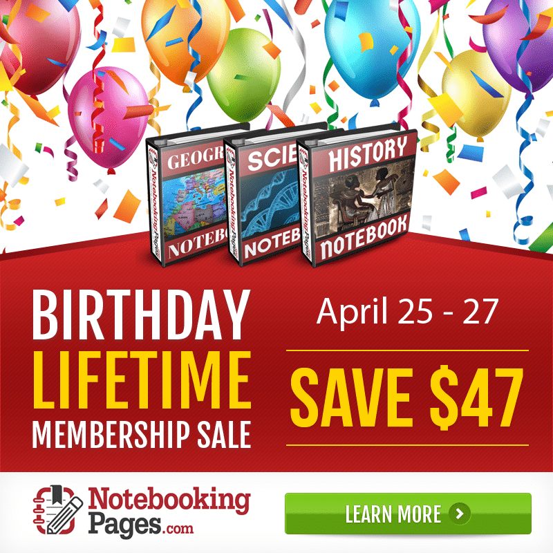 Notebooking Pages LIFETIME Membership Only $50! (Save $47!)