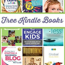 13 Free Kindle Books: Crafts for Kids, Global Study Bible, & More!