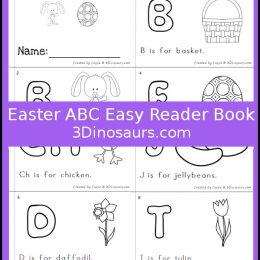 Free Easter ABC Easy Reader Book