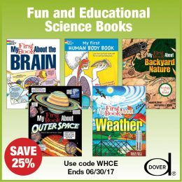 25% Off Fun & Educational Dover Science Activity Books!
