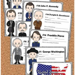 FREE United States Presidents Book for Kids