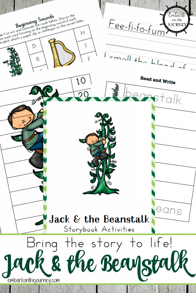 Stupendous image with regard to jack and the beanstalk printable