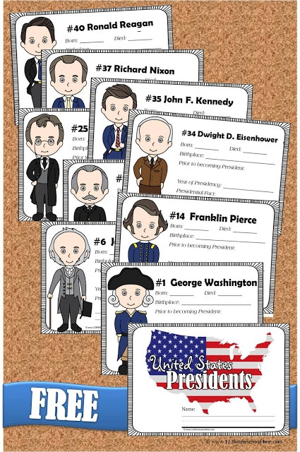 Free united states presidents book for kids free for Presidents and their home states