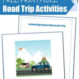 Free Printable Road Trip Activities for Families