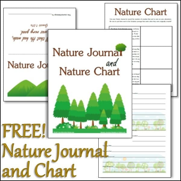 nature chart journal christian