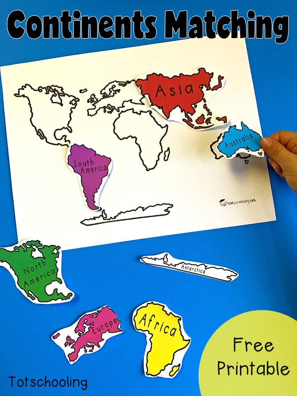 This is a photo of Amazing Free Printable Continents and Oceans Quiz