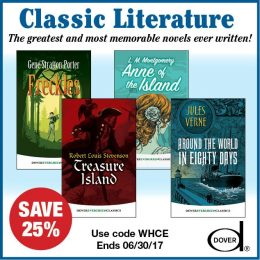 25% Off Children's Literature from Dover – Build Your Library!