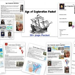 Free Age of Exploration Packet – Ends 4/5/17