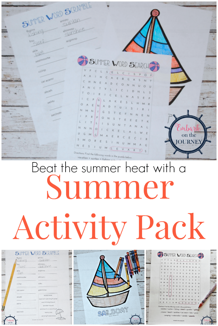 Free Fun in the Sun Summer Activity Pack