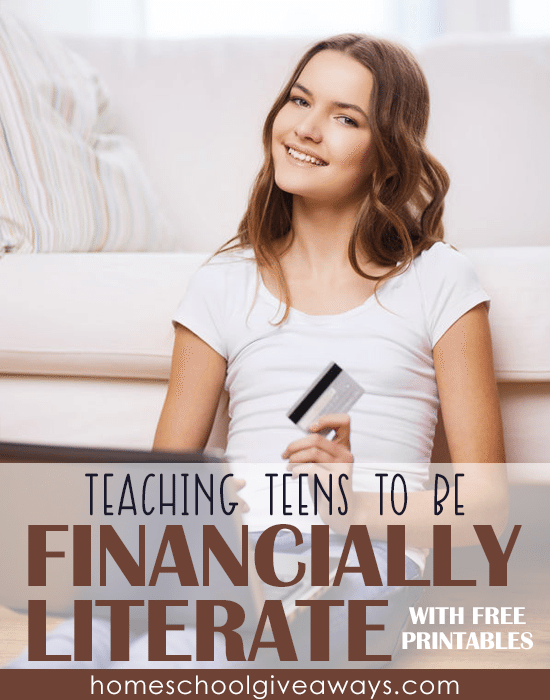 Free Financial Literacy Printables For Teens Free