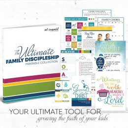Free Ultimate Family Discipleship Printable Pack