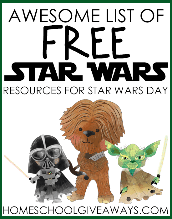 Free Star Wars Learning Resources : Free Homeschool Deals