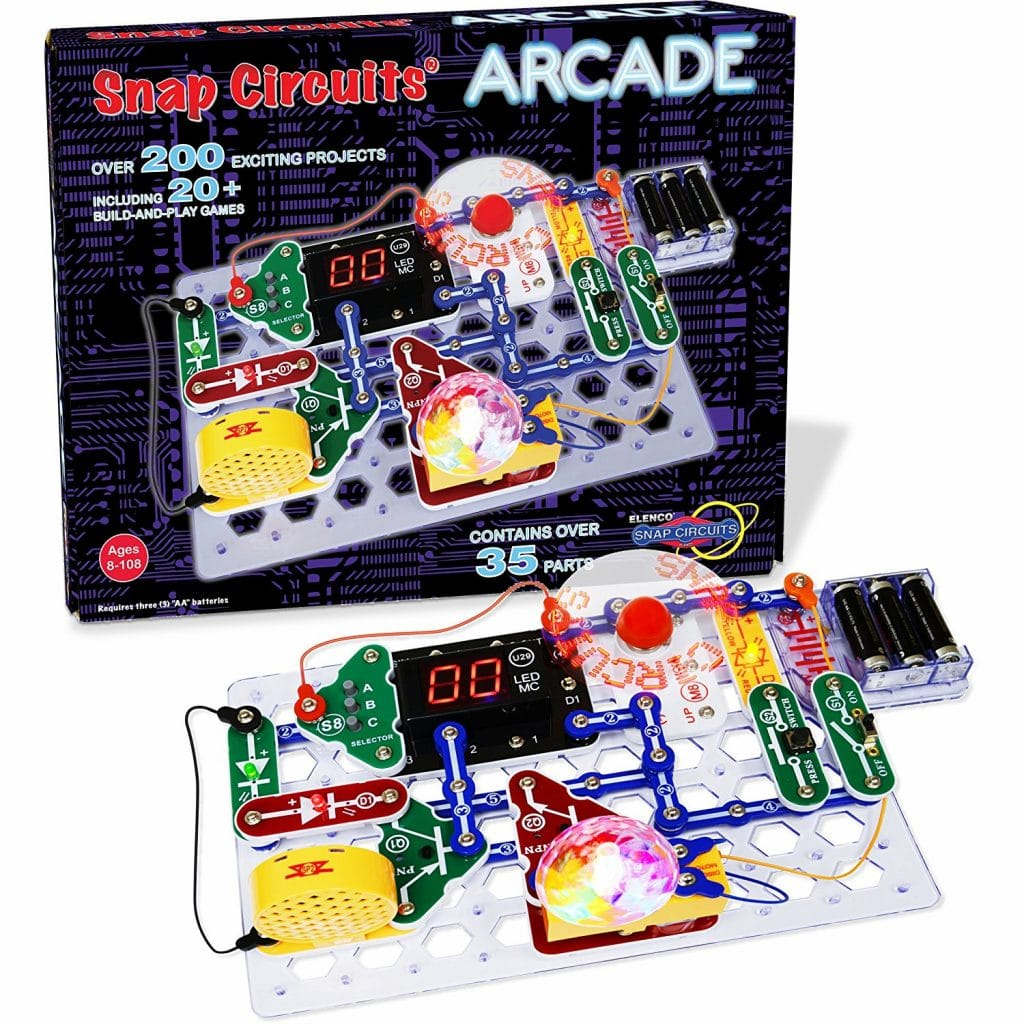 Snap Circuits Arcade Electronics Kit Only $34.64! (Reg. $65!)