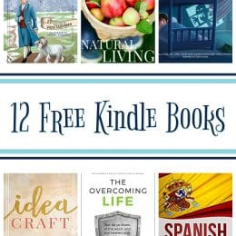12 Kindle Freebies: Spanish for Beginners, Natural Living, & More!