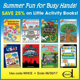 25% Off Dover Little Activity Books – As Low As $1.50!