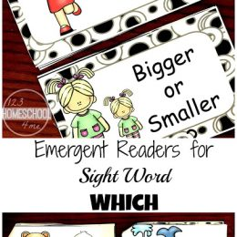Free Kindergarten Sight Word Readers