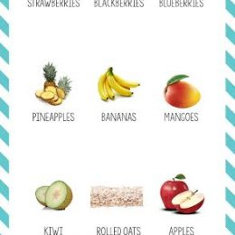12 Mix-and-Match Ingredients for Creating a Healthy Smoothie