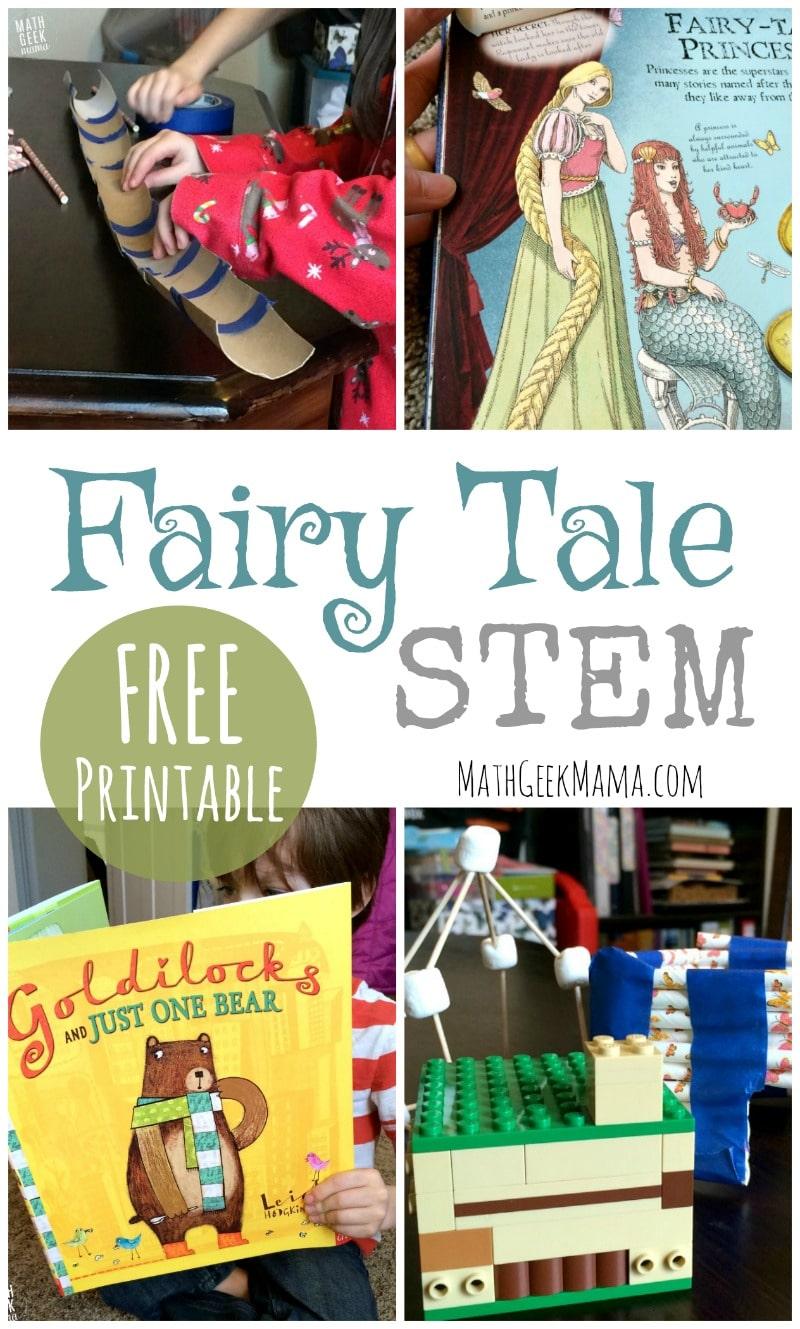 Free Fairy Tale STEM Challenge Printables | Free ...