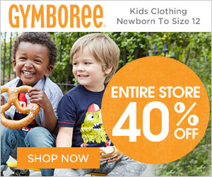 40% Off Entire Purchase at Gymboree