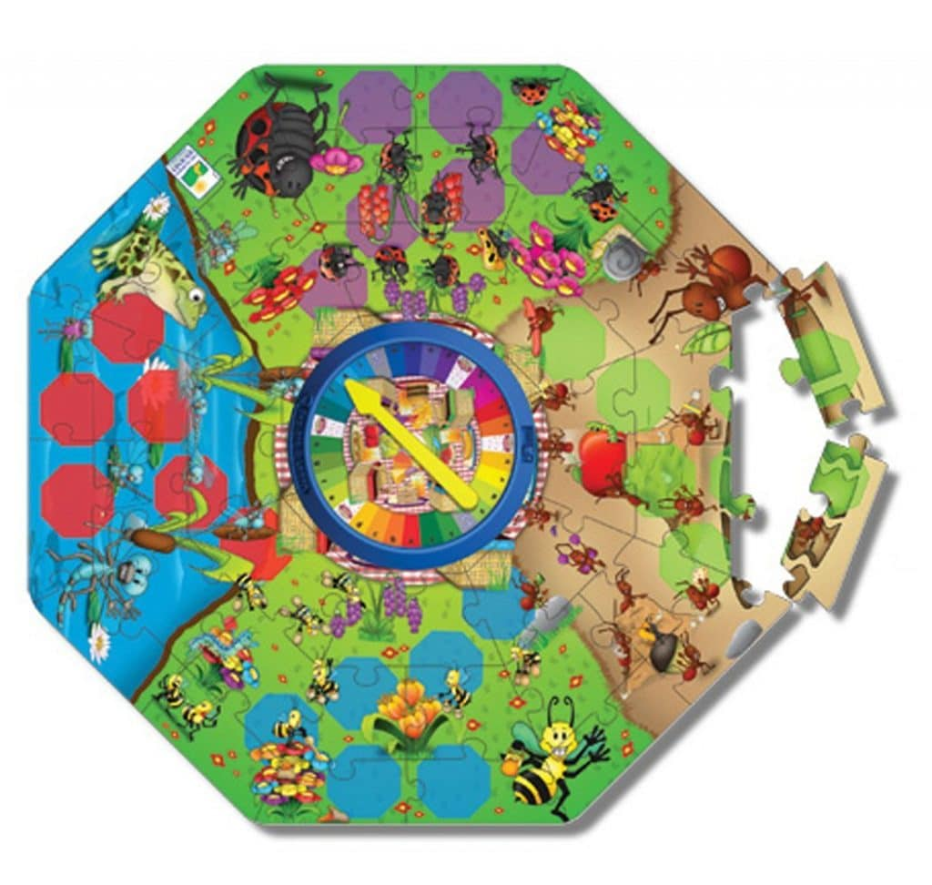The Learning Journey Explore & Learn Spelling Bugs Floor Puzzle