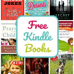 20 Kindle Freebies: Knock-Knock Jokes, Cursive Handwriting, Praying for Children, & More!
