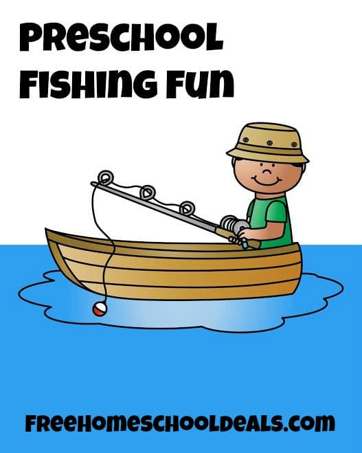 free fishing themed preschool printables instant download free homeschool deals. Black Bedroom Furniture Sets. Home Design Ideas