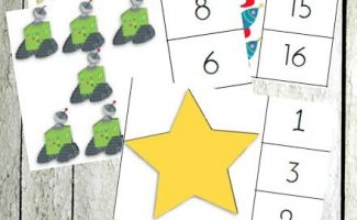 FREE OUTER SPACE THEMED COUNTING CLIP CARDS (Instant Download)
