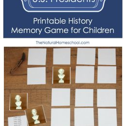 Free U.S. Presidents Memory Game
