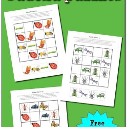 Free Insect Sudoku Puzzles