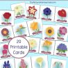 Free Flower Memory Match Game
