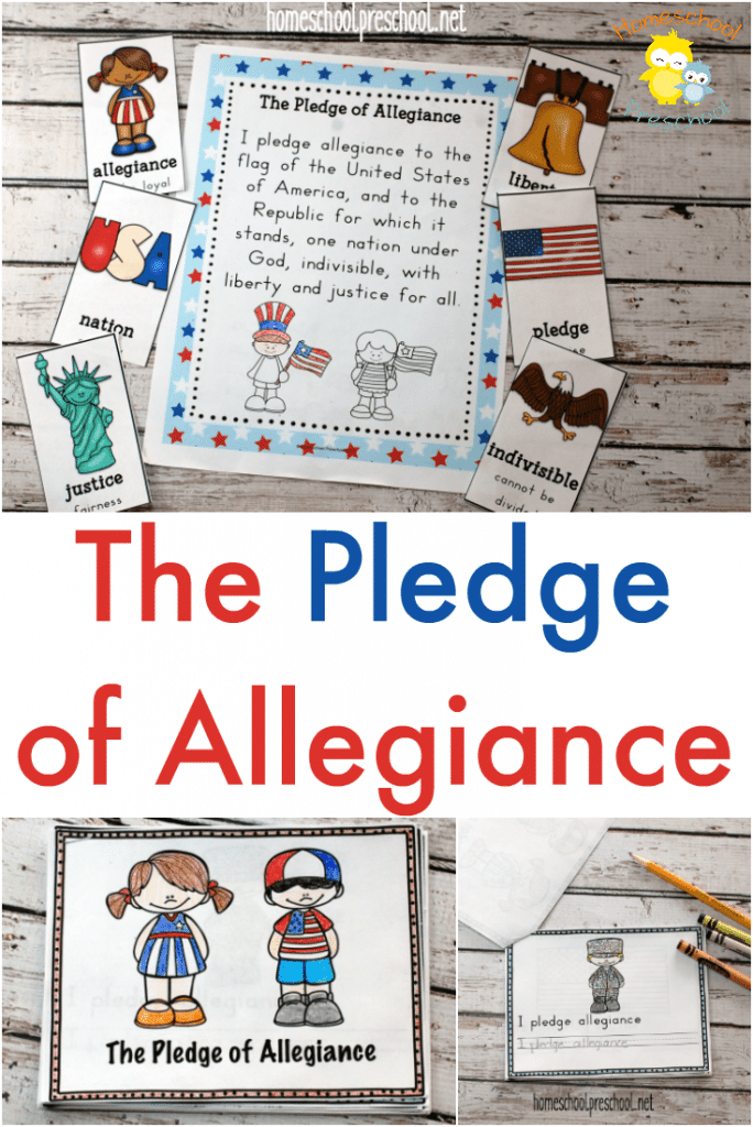 free pledge of allegiance printables free homeschool deals. Black Bedroom Furniture Sets. Home Design Ideas