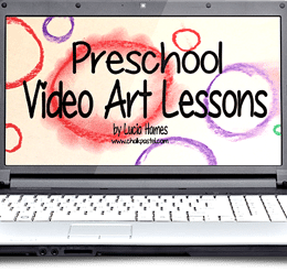 50% Off Preschool Chalk Pastel Video Art Lessons – Today Only!