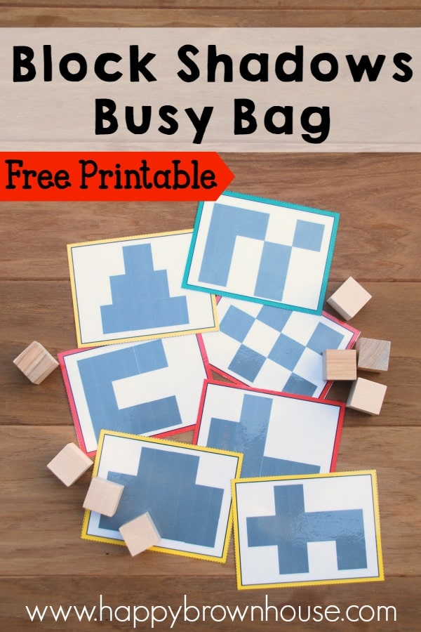 10 FREE Printable Busy Bags to Keep Young Learners Engaged | Free ...