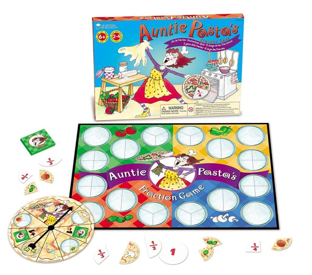 Auntie Pasta's Fraction Game
