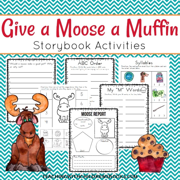 Theater Script: If You Give a Moose a Muffin by Laura Numeroff