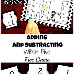 Free Addition and Subtraction Math Game