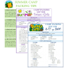 Free Summer Camp Packing Lists