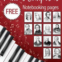Free Famous Composers Notebooking Pages