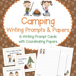 Free Camping Writing Prompts & Papers