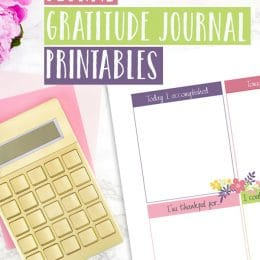 Free Gratitude Journal Printables