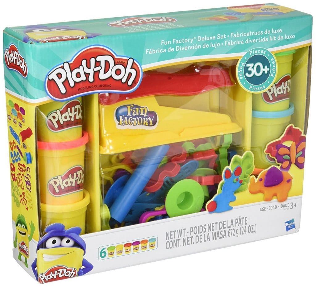 Play-Doh Fun Factory Deluxe Playset Only $12.99! (Reg. $22)