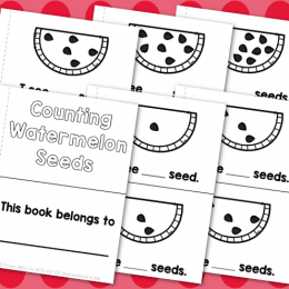 Free Watermelon Counting Book