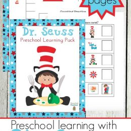 Free Dr. Seuss Preschool Printable Pack