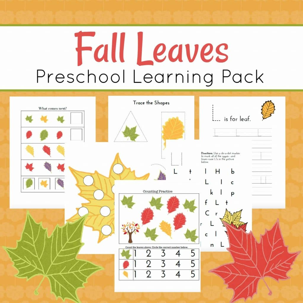 Leaf Craft With  Year Old