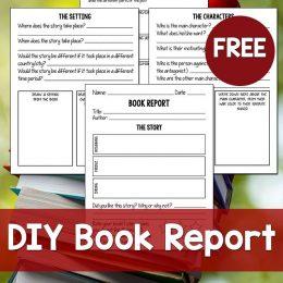 FREE DIY Book Report Kit ($4.99 Value!)